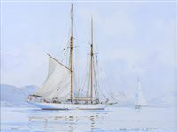"""Lot 34 - δ GUY L'HOSTIS (FRENCH, 1945- )<br/>""""ALTAIR"""" a ......"""