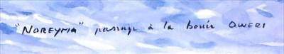 "Lot 36 - δ GUY L'HOSTIS (FRENCH, 1945- )<br/>""BEMBRIDGE..."