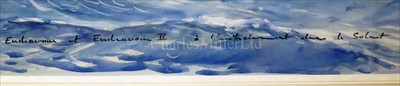 Lot 38 - δ GUY L'HOSTIS (FRENCH, 1945- )<br/>Endeavour et...