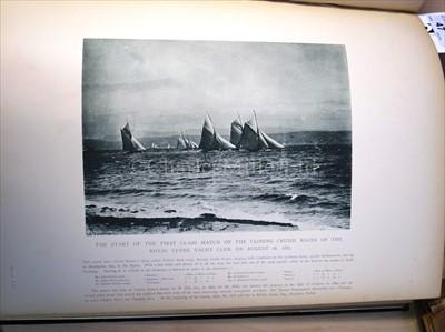 Lot 47 - Burgess, Edward: 'American and English Yachts'...