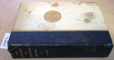 Lot 49 - Clark, A.H: 'The History of Yachting,...