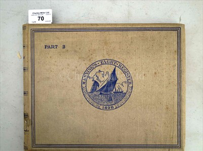 Lot 70 - MANNING'S YACHTING ANNUAL / THE AMERICAN YACHT...