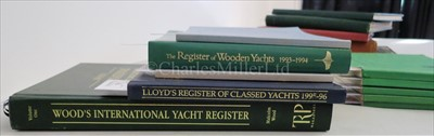 Lot 71 - LLOYD'S REGISTER OF CLASSED YACHTS comprising...