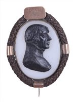 Lot 88 - AN EARLY 19TH-CENTURY COMMEMORATIVE...