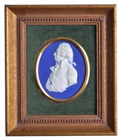 Lot 96 - AN EARLY 19TH-CENTURY WEDGWOOD BLUE DIP...