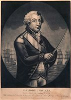Lot 120 - 'SIR JOHN JERVIS, K.B., VICE ADMIRAL OF THE...