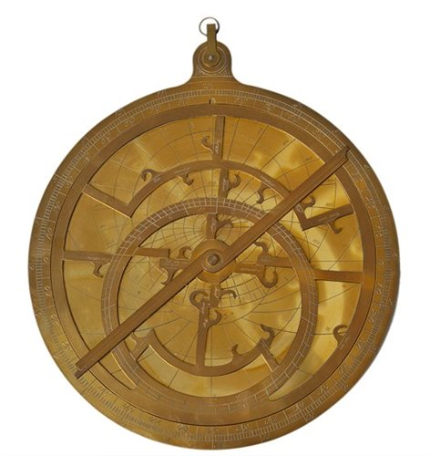 Lot 242 - A MODERN BRASS PLANISPHERIC ASTROLABE<br/>after...