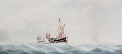 Lot 8 - TIM THOMPSON (BRITISH 1951 - )<br/>Trawling in...
