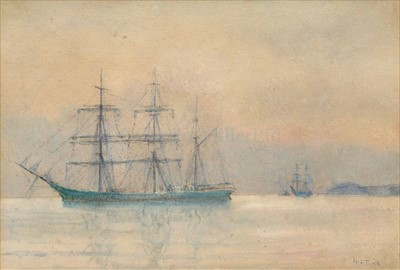 Lot 5 - HENRY SCOTT TUKE (BRITISH, 1858-1929)<br/>A...