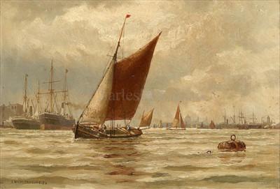 Lot 15 - ARTHUR WILDE PARSONS (BRITISH, 1854 -...
