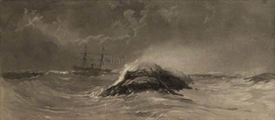 Lot 24 - EDWARD WILLIAM HEREFORD, R.N. (FL.1851-74)<br/>A...