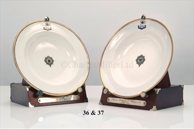 Lot 37 - A MINTON SOUP-PLATE FROM THE IMPERIAL GERMAN...