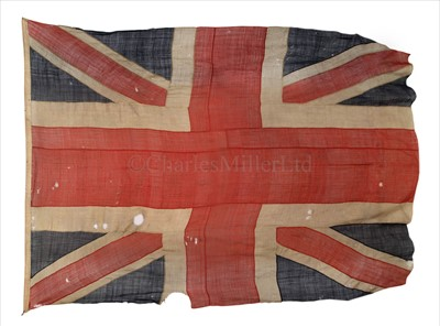 Lot 53 - A VERY RARE AND FINELY PRESERVED UNION FLAG...