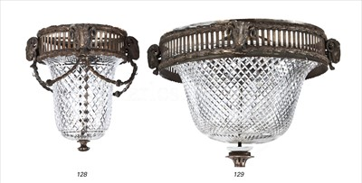 Lot 141 - R.M.S MAURETANIA (1906): A LARGE CUT-GLASS...
