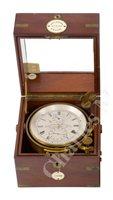 Lot 177 - A TWO DAY MARINE CHRONOMETER BY BROCKBANK, ATKINS & MOORE, LONDON, CIRCA 1880