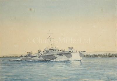 Lot 10 - ERIC TUFNELL (1888-1978)<br/>H.M.I.M.L. 477, (Lt....