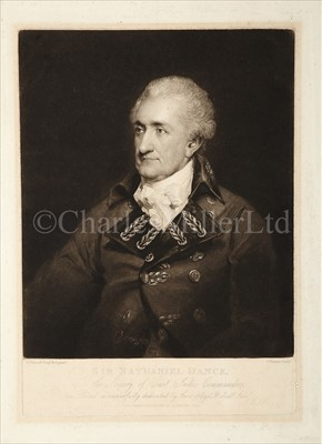Lot 27 - 'SIR NATHANIEL DANCE'<br/>published by Charles...