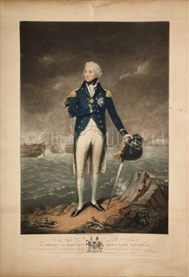 Lot 35 - 'THE RIGHT HON.BLE ADMIRAL LORD NELSON,...