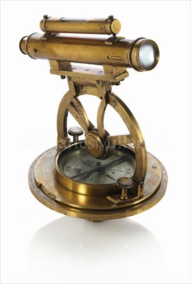 Lot 185 - AN EARLY 19TH-CENTURY MINING THEODOLITE BY...