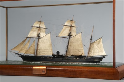 """Lot 260 - AN EXCEPTIONAL 16':1"""" SCALE WOOD AND METAL..."""