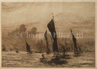 Lot 1 - WILLIAM LIONEL WYLLIE (BRITISH, 1851-1931)<br/>The...