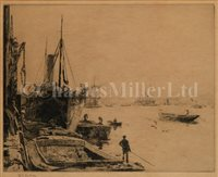 Lot 2 - WILLIAM LIONEL WYLLIE (BRITISH,...