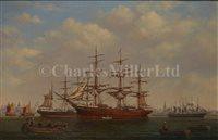 Lot 10 - DENZIL SMITH (BRITISH, 20TH-CENTURY)<br/>Ships at...