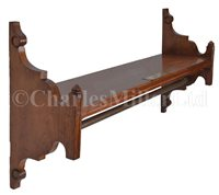 Lot 49 - A SHELF MADE FROM TIMBER RECOVERED FROM QUEEN...