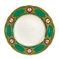 Lot 52 - A PLATE FROM THE ROYAL SERVICE FROM THE R.Y. VICTORIA & ALBERT III